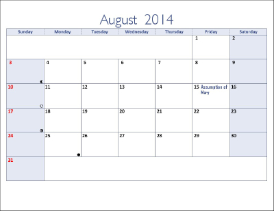 2014 August