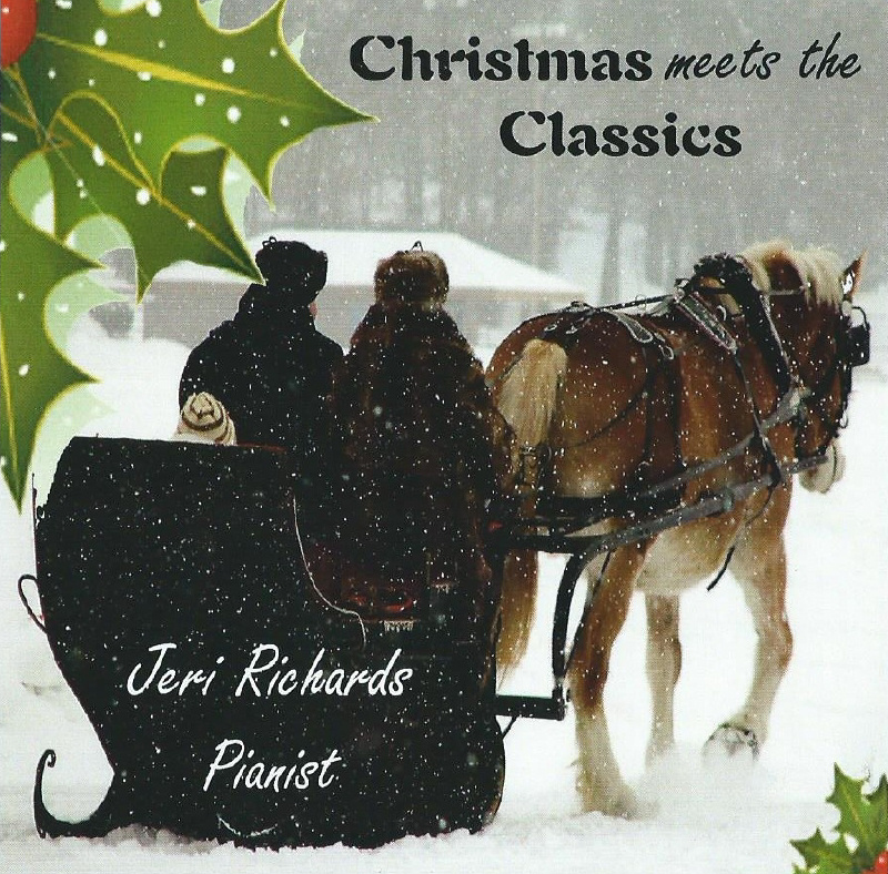 Jeri Richards - Christmas Meets the Classics - CD Cover