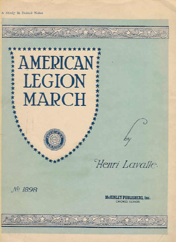 american legion march legi n americana marcha henri lavalle piano solo sheet music. Black Bedroom Furniture Sets. Home Design Ideas