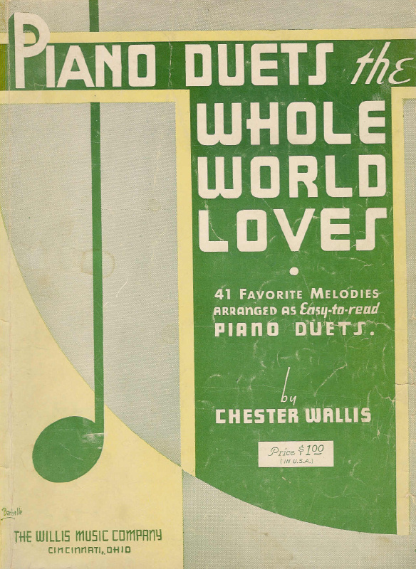 Piano Duets the Whole World Loves