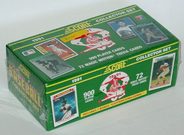 Score 1991 major league baseball collector set