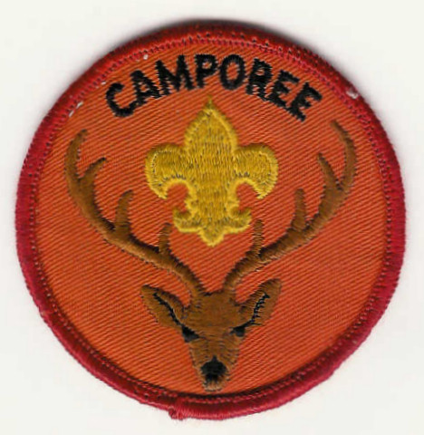 CAMPOREE - With Stag and Fleur-de-Lis