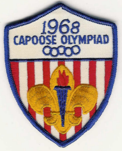 1968 Capoose Olympiad - Torch