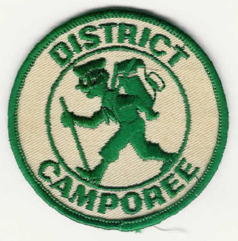 DISTRICT CAMPOREE - Hiker - Green