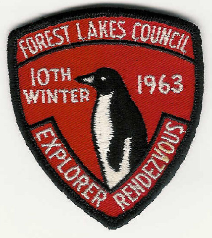 1963 Forest Lakes Council - Explorer Rendezvous - 10th Winter - Penguin