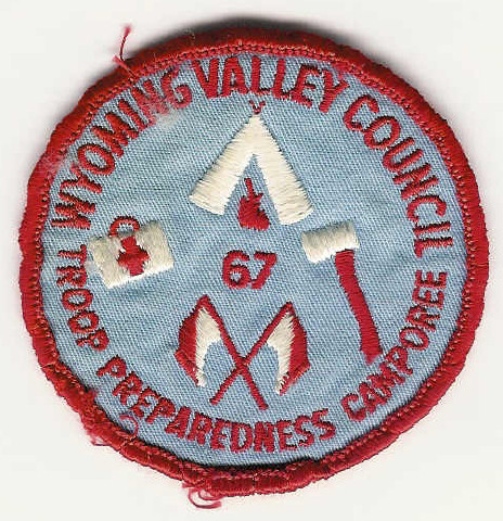 1967 Wyoming Valley Council - Troop Preparedness Camporee