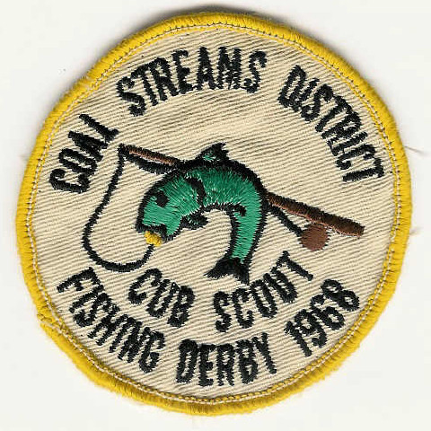 1968 Coal Streams District - Cub Scout - Fishing Derby
