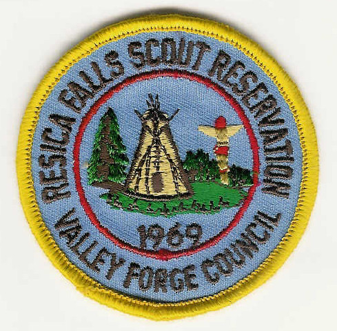 1969 Resica Falls Scout Reservation - Valley Forge Council