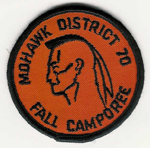 1970 MOHAWK DISTRICT FALL CAMPOREE