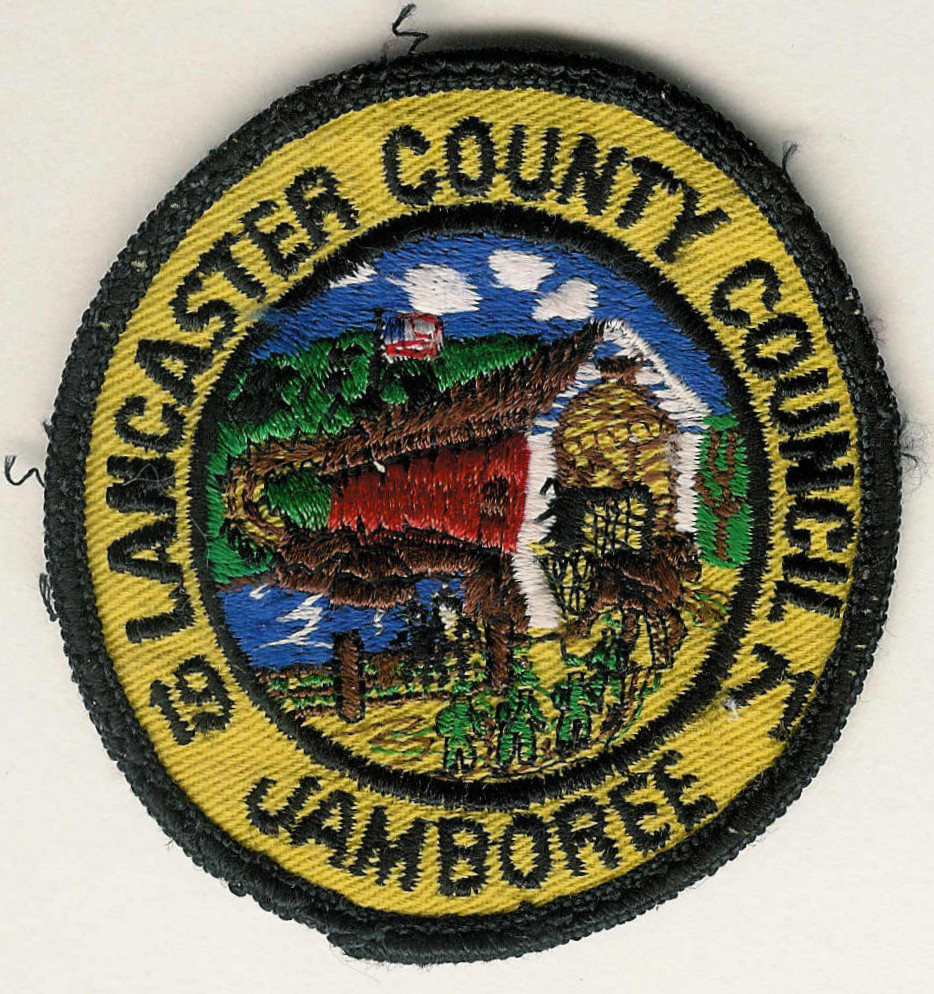 1971 LANCASTER COUNTY COUNCIL Jamboree - Covered Bridge