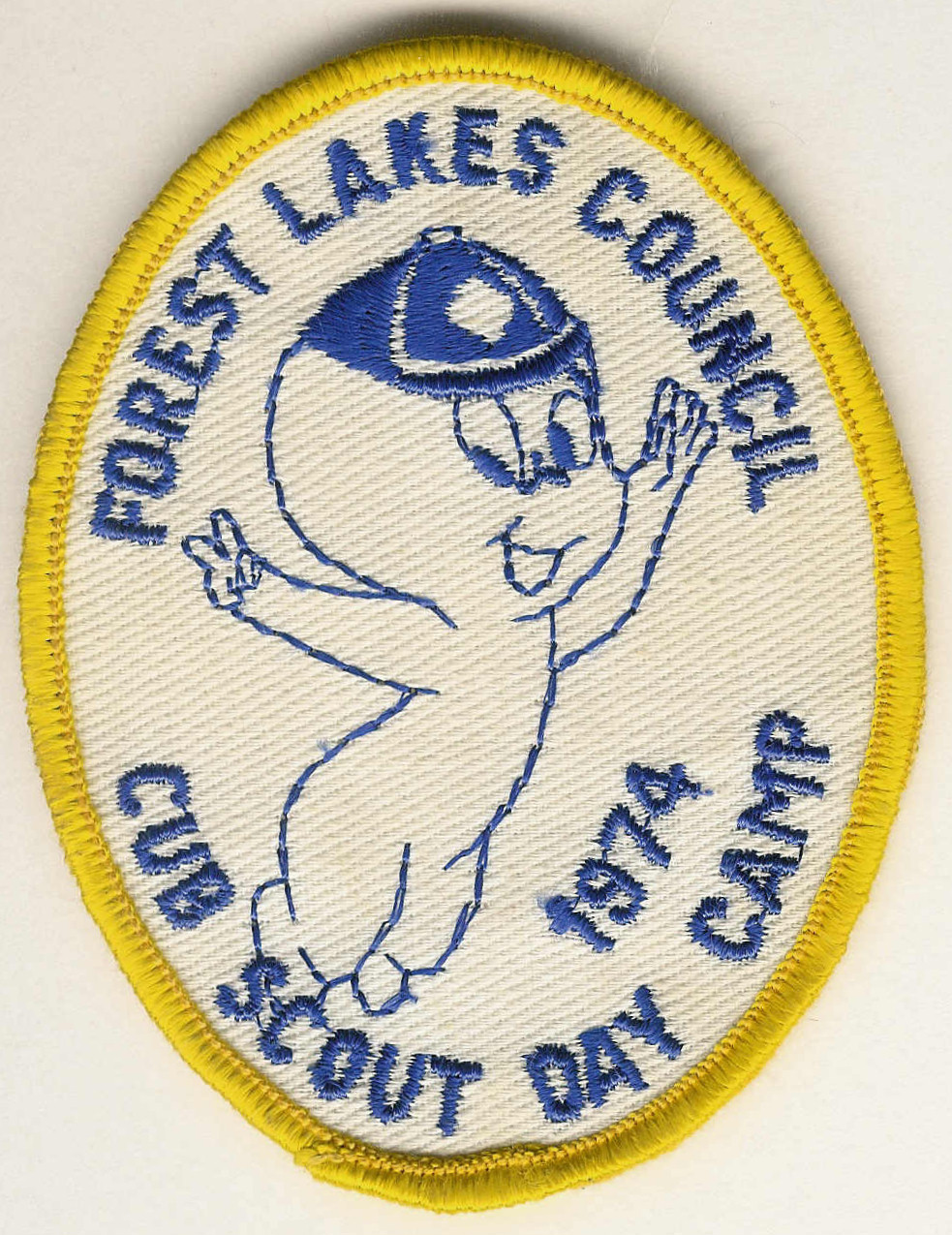 1974 FOREST LAKES COUNCIL - Cub Scout Day Camp - Casper