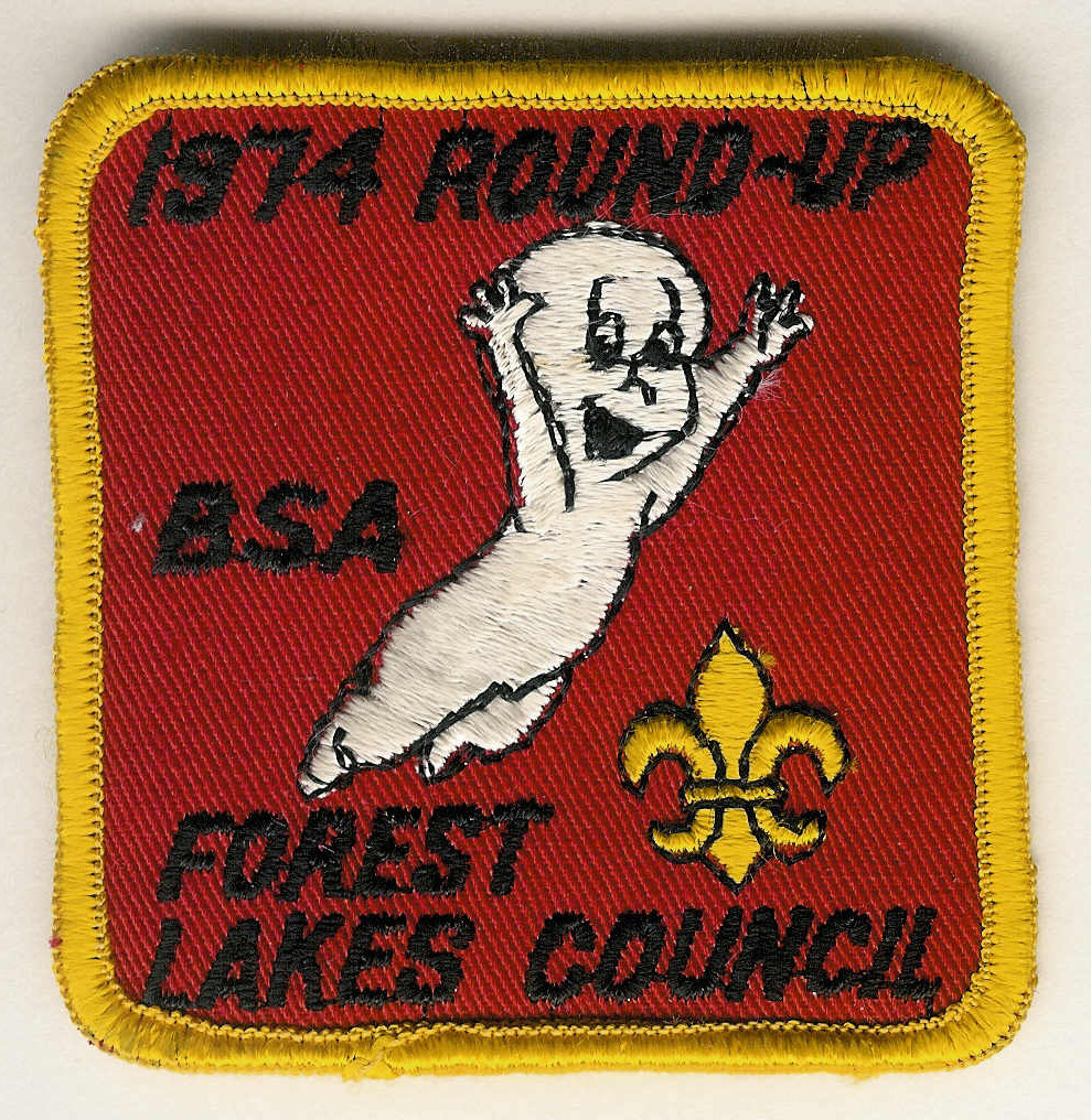 1974 FOREST LAKES COUNCIL Round-up BSA - Casper - Ghost