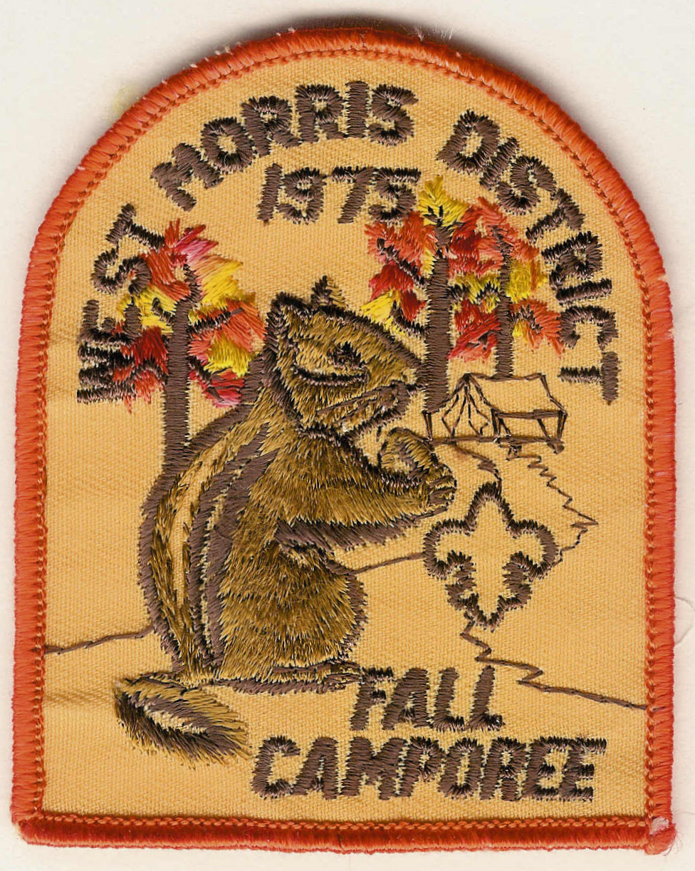 1975 West Morris District - Fall Camporee - Squirrel, Tent