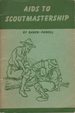 AIDS TO SCOUTMASTERSHIP by Baden Powell 1944