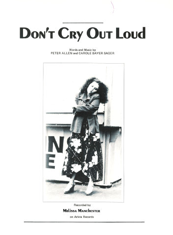 Don't Cry out Loud - Peter Allen, Carol Bayer Sager