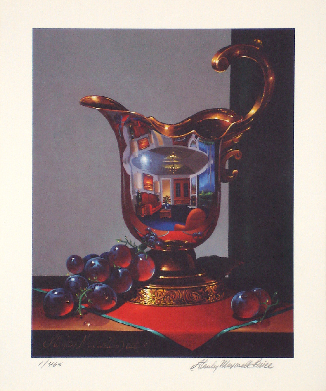 Stanley Maxwell Brice - Golden Moment - Limited Edition Lithograph - Signed