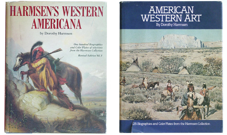 HARMSEN's WESTERN AMERICANA - 2 Volumes: 1 Signed - Dorothy Harmsen