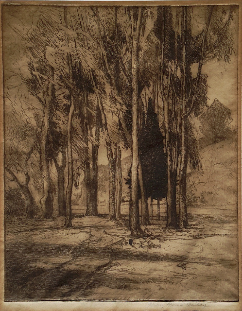 Harry Lewis Bailey - Original Etching