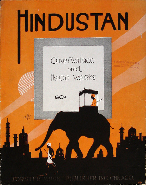 Hindustan - Oliver Wallace, Harold Weeks - Large Format