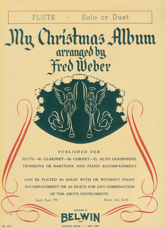 My Christmas Album - Flute, Solo or Duet - Fred Weber