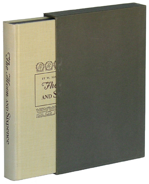 MOON AND SIXPENCE, The - Somerset Maugham - Heritage Press
