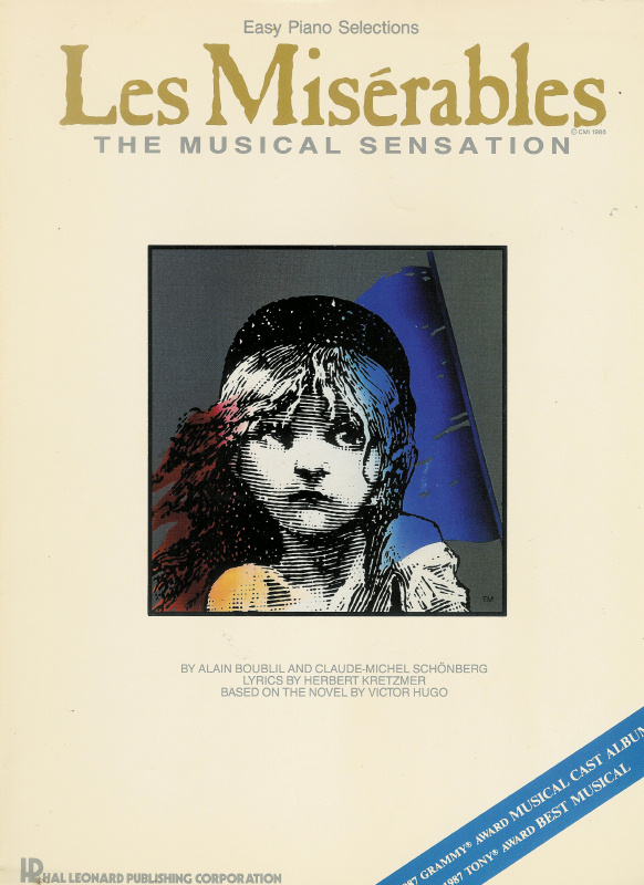 Easy Piano Selections - Les Miserables