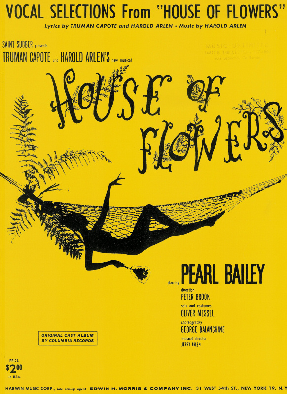 Vocal Selections from House of Flowers